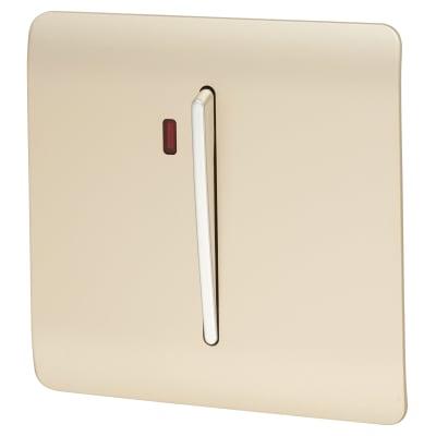 Trendi 45A Neon Insert Cooker Switch - Gold