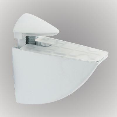 Pelican Shelf Support Bracket - 5-30mm Shelf Thickness - White