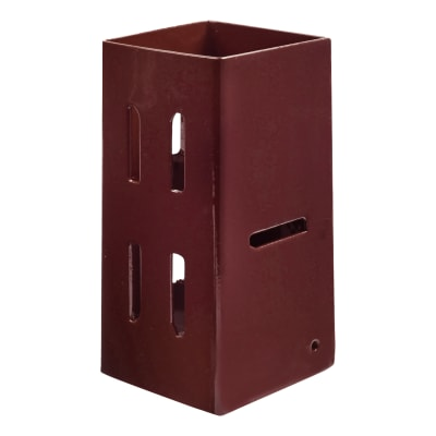 Taurus Fence Post Extender - 75mm - Oxide Red