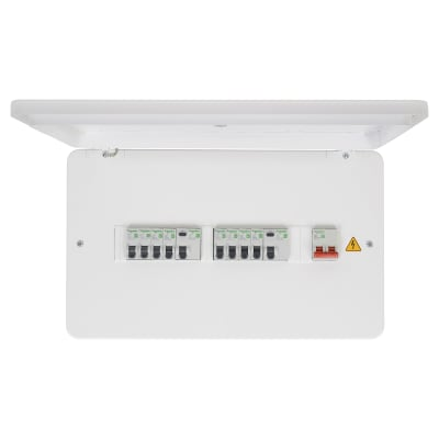 Schneider Easy9 2+5+5 Way 100A 12 Module Consumer Unit