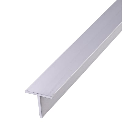 1000mm T Profile - 15 x 15 x 1.5mm - Anodised Aluminium