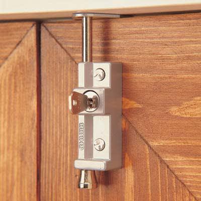 Yale® 8K116 Multi Purpose Locking Bolt - White