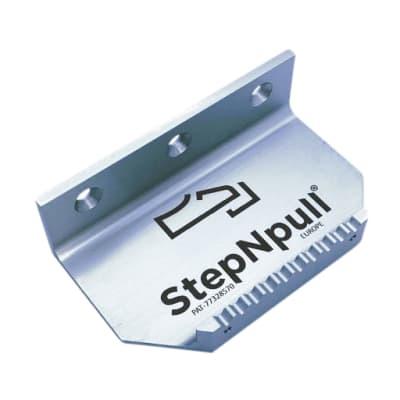 StepNpull Foot Operated Door Opener - Silver