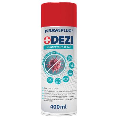 Rawlplug R-DEZi+ Universal Anti Bacterial Disinfectant Spray - 400ml