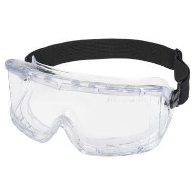 Protective Anti-Fog Safety Goggles - Clear PVC