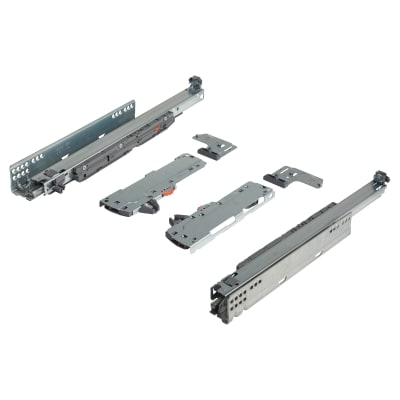 Blum TIP-ON (Touch to Open) BLUMOTION (Soft Close) Drawer Runner - 40kg - Full Extension - 450mm