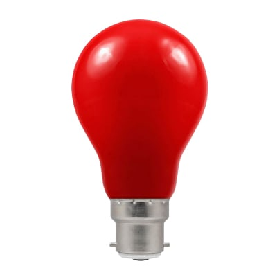 Crompton 1.5W LED GLS Coloured Lamp - E27 - Red