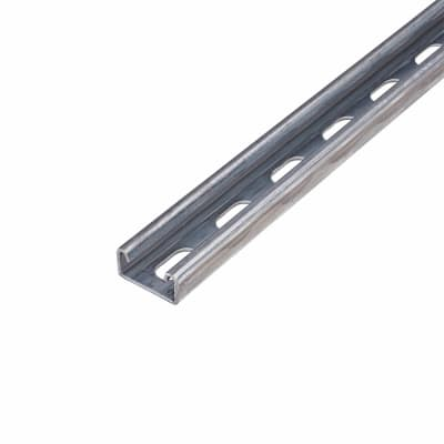 Pre-galvanised Slotted Channel - Heavy Gauge - 41 x 21 x 3000mm