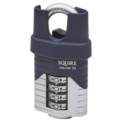 Squire Vulcan Combination Closed Shackle Padlock - 50mm