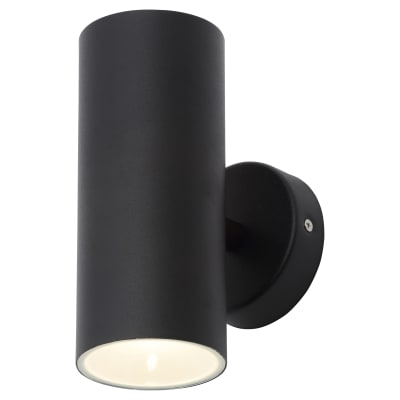 Forum Melo 2 x 5W LED Wall Light - Black