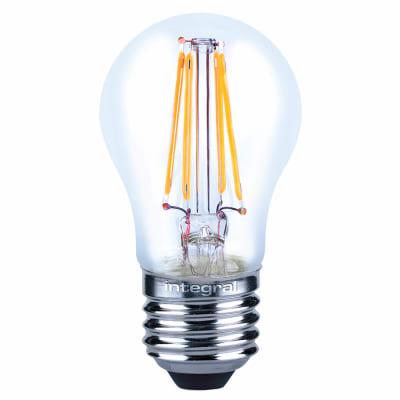 Integral LED 4W Mini Globe Filament Lamp - E27 - 2700K