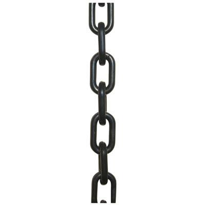 Plastic Chain - Black - 5m