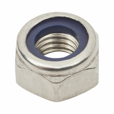 TIMco Nylon Insert Hex Nut - Type T - M5 - A2 Stainless Steel - Pack 10