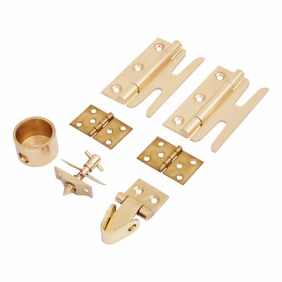 Sash Window Simplex Kit - Brass