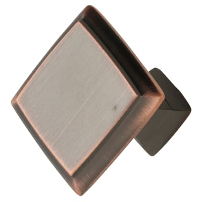 Crofts & Assinder Wellington Mazak Cabinet Knob - 38mm - Brushed Copper