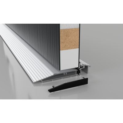 Stormguard Proline AM5EX Outward Threshold - 1000mm - Outward Opening Doors - Silver