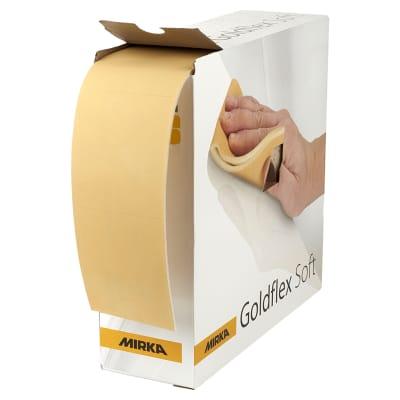 Mirka Goldflex Soft Sanding Roll - 115mm x 200 Pads - Grit P600