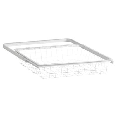 elfa Basket and Frame- 449 x 430 x 85mm - White