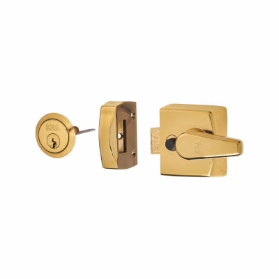 ERA® Replacement Nightlatch - 40mm Backset - Brass