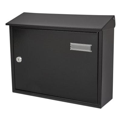 Taylor Letter Box - 280 x 365 x 110mm - Black