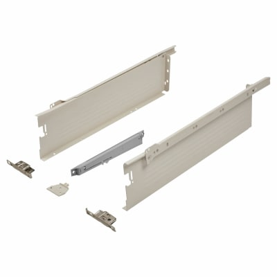Blum METABOX BLUMOTION Soft Close Drawer Pack - Single Extension - 118mm (H) x 500mm (D) - 30kg