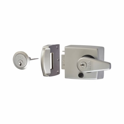 ERA® Double Locking Nightlatch - 60mm Backset - Satin Chrome
