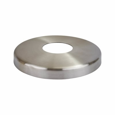 Balustrade Base Plate Cover - 304 Stainless Steel - Brushed Satin