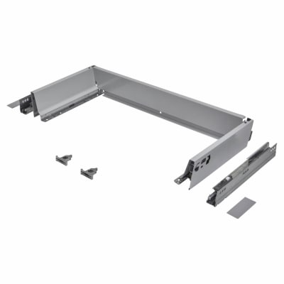 Blum TANDEMBOX ANTARO Drawer Pack - BLUMOTION Soft Close - (H) 84mm x (D) 350mm x (W) 600mm - Grey