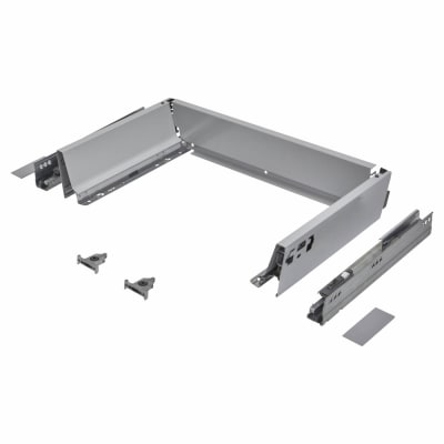 Blum TANDEMBOX ANTARO Drawer Pack - BLUMOTION Soft Close - (H) 84mm x (D) 350mm x (W) 450mm - Grey