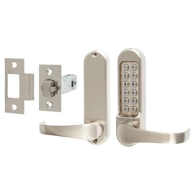 Codelocks 510 Mechanical Lock - Stainless Steel