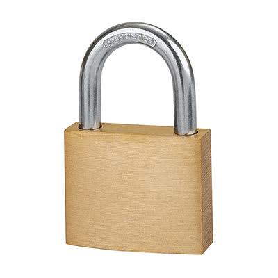 Solid Brass Padlock - 40mm - Keyed Alike Key No 1