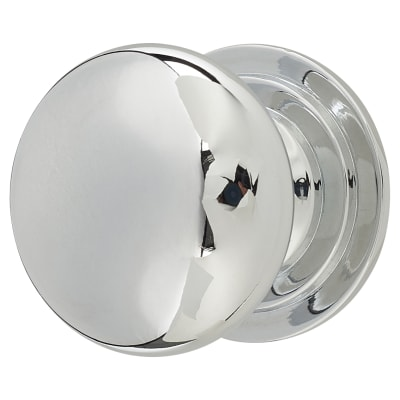 Touchpoint Victorian Turned Cabinet Knob - 32mm - Polished Chrome