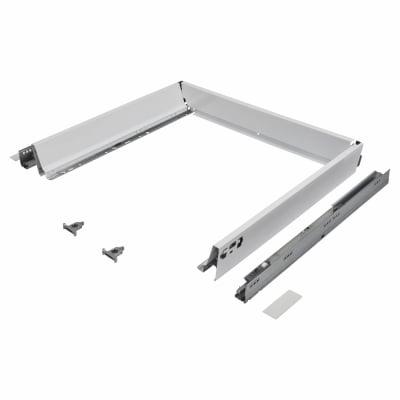 Blum TANDEMBOX ANTARO Drawer Pack - BLUMOTION Soft Close - (H) 84mm x (D) 500mm x (W) 800mm - White