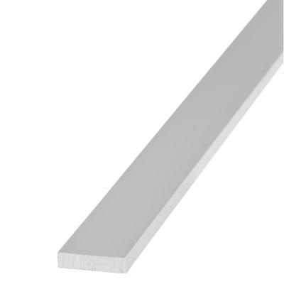 1000mm Flat Bar - 20 x 5mm - Anodised Aluminium