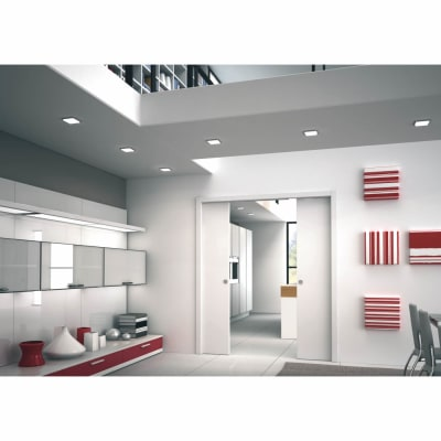 Eclisse Double Pocket Door Kit - 125mm Finished Wall - 610+610 x 1981mm Door Size