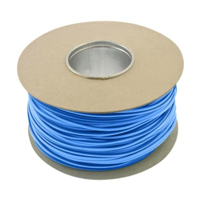 Unicrimp Earth Sleeving - 4mm x 100m - Blue