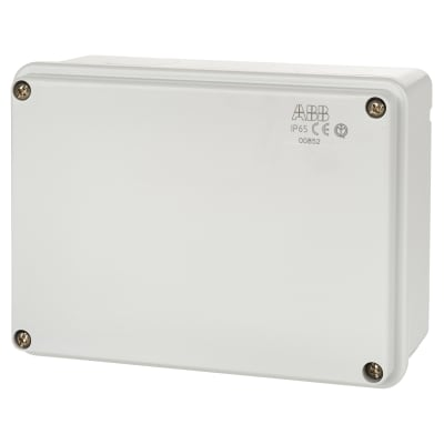 ABB Waterproof Thermoplastic Junction box - 153 x 110 x 66mm