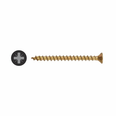 Spax Yellox Woodscrew - Bit Size 2 - 5.0 x 60mm - Pack 100