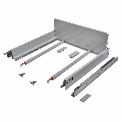 Blum TANDEMBOX ANTARO Pan Drawer - BLUMOTION Soft Close - (H) 203mm x (D) 500mm x (W) 800mm - Grey