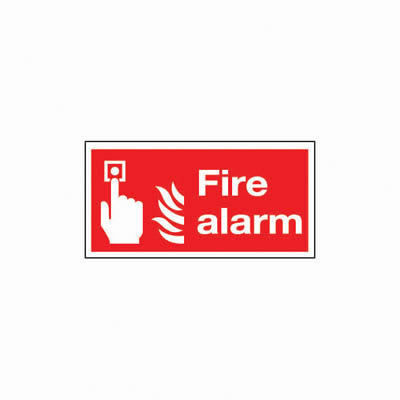 Fire Alarm - 100 x 200mm