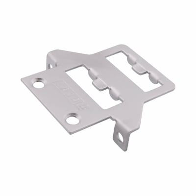 LASA Fitch Window Fastener - uPVC/Timber - Nightvent Keep - Satin Chrome