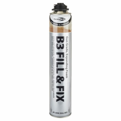Bond It B3 Fill & Fix Expanding Foam Filler - 750ml - Gun Grade