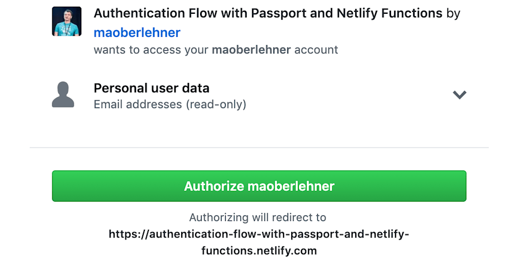 Implementing an Authentication Flow with Passport and