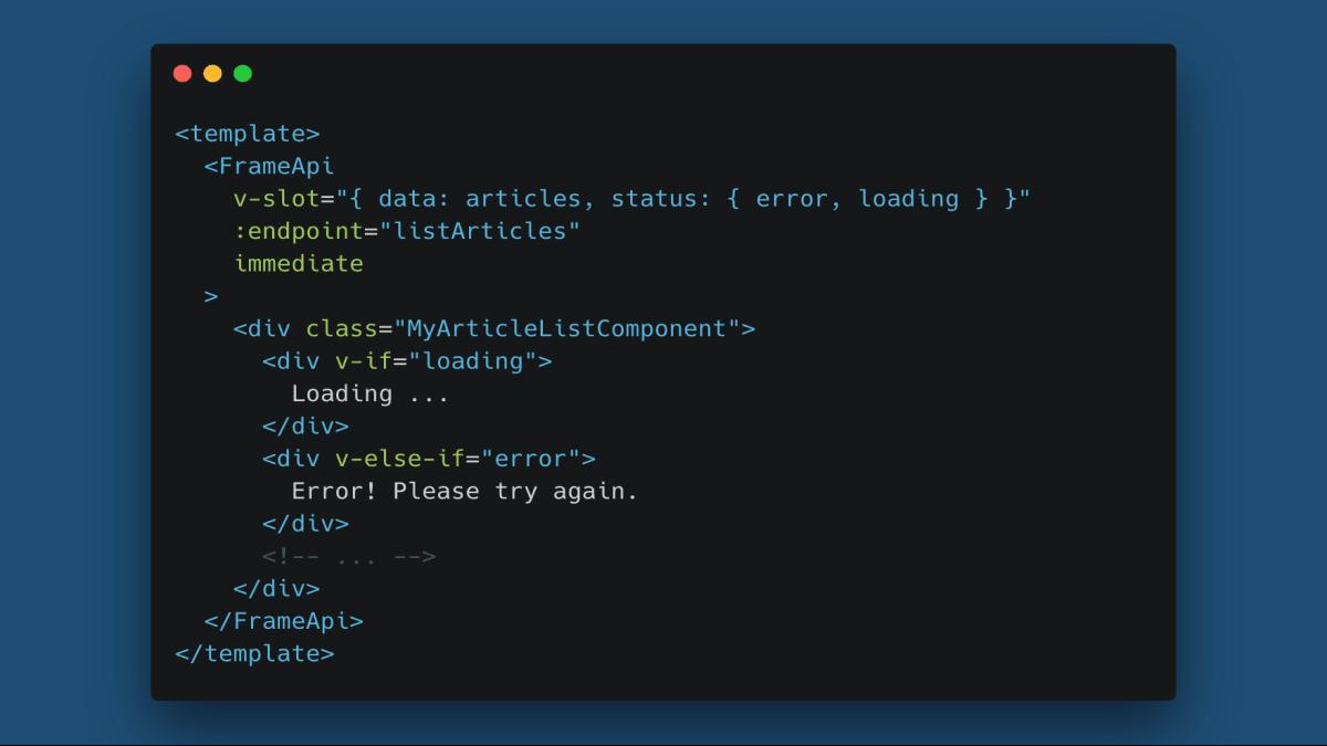 Reusing Logic With Renderless Vue.js Frame Components