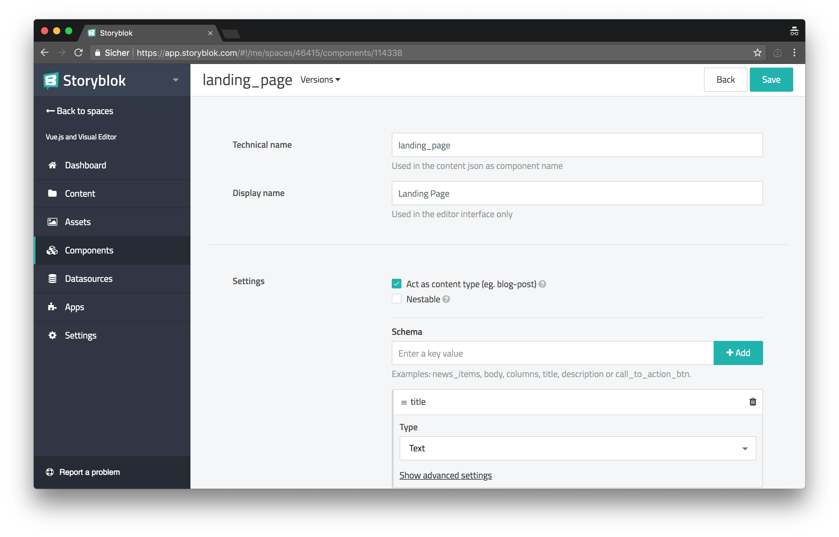 Building a Website with Vue js, the Storyblok Visual Editor and
