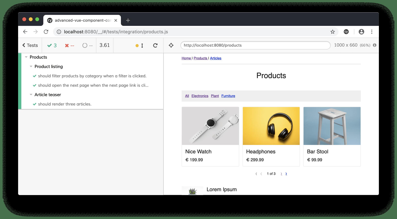 Vue File Browser Component