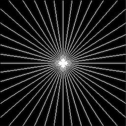 M radial