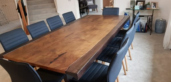 Handcrafted Cypress Table
