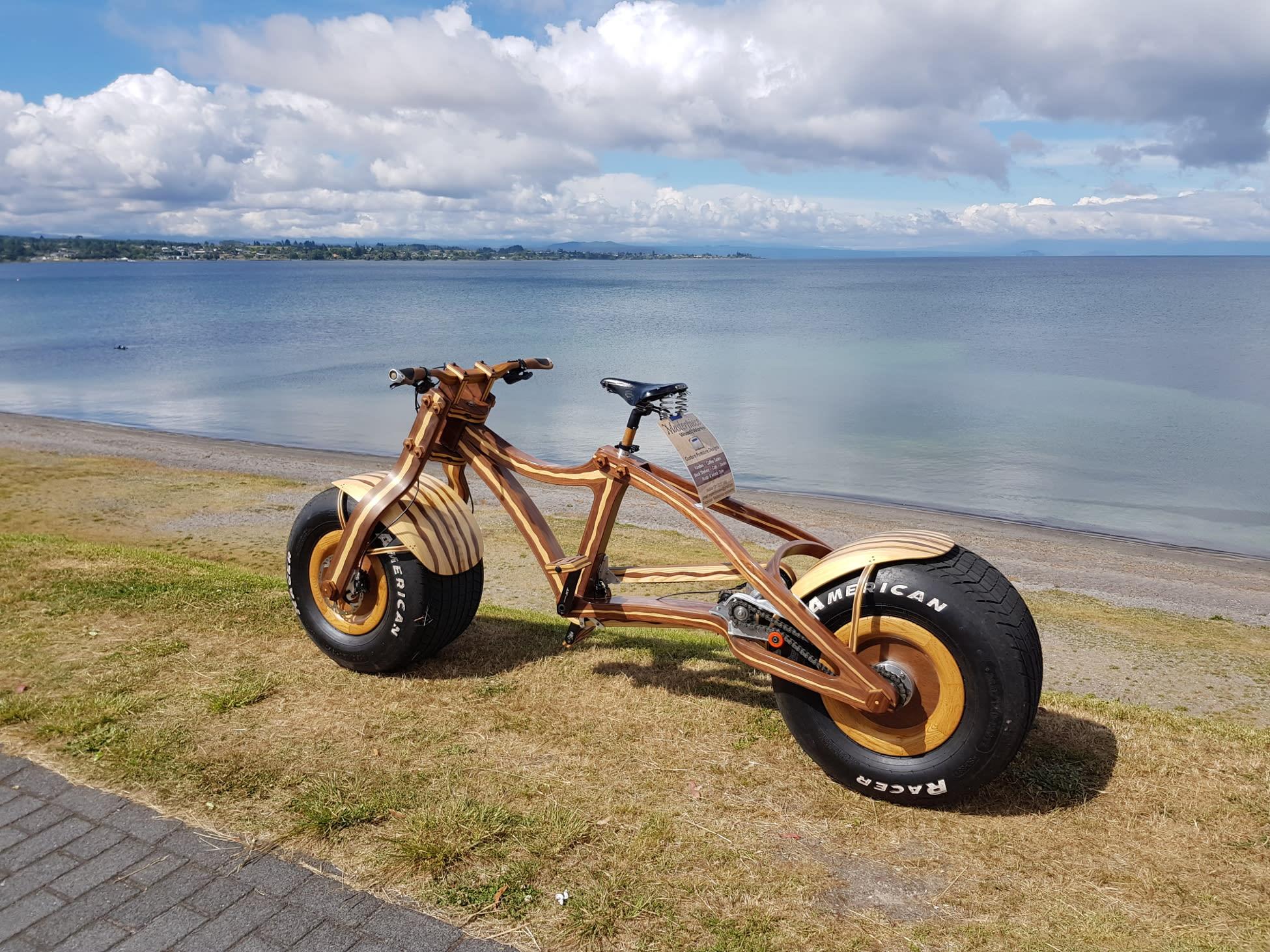 Grace, más que una bicicleta, una auténtica obra de arte