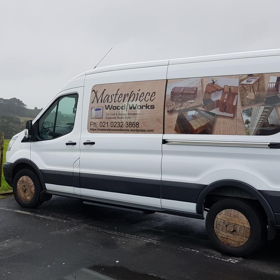 Masterpiece Woodworks's Truck